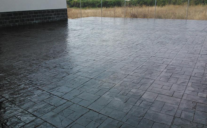 Suelo de pizarra simple suelos de pizarra para exterior - Pavimentos exteriores precios ...
